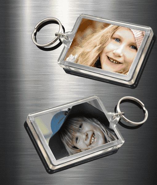 Personalised Photo Keyrings