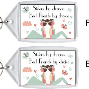 Sister Keyring – Best Friends By Choice