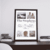 Family Personalised Family Photo Print