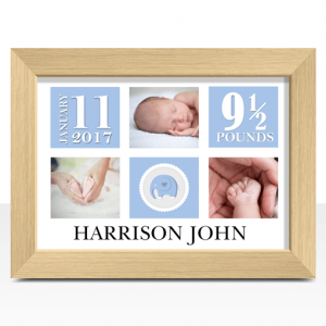 Baby Shower Gifts Personalised New Baby Boy Photo Gift