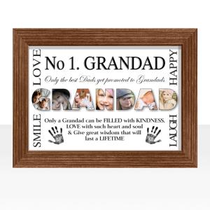 Personalised GRANDAD Photo Gift