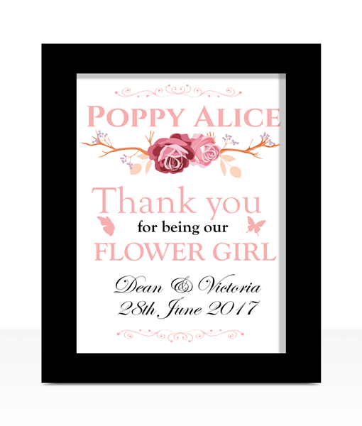 Flower Girl Thank You Wedding Gift