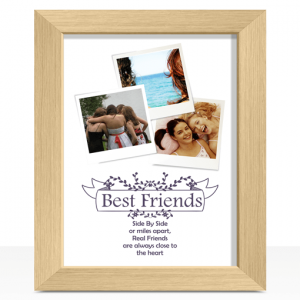 Gifts For Friends Best Friends Personalised Photo Print