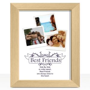 Best Friends Personalised Photo Print