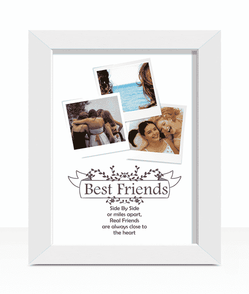 Best Friends Personalised Photo Print
