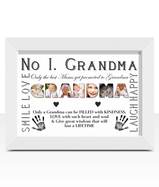 Personalised GRANDMA Photo Gift | ABC Prints