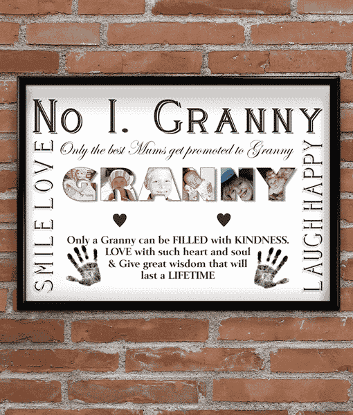 Personalised GRANNY Photo Gift
