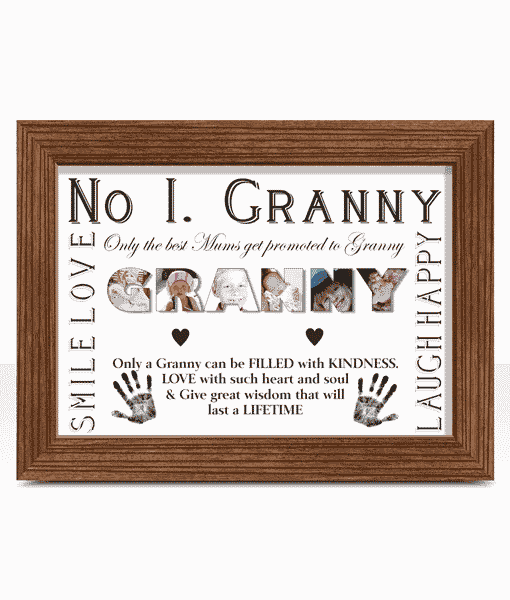 Personalised Granny Photo Gift Abc Prints