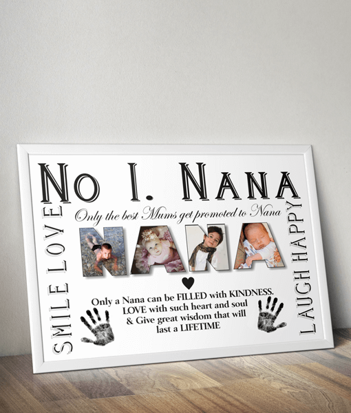 Personalised NANA Photo Gift