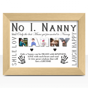Personalised NANNY Photo Gift