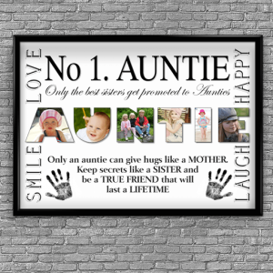 No1 AUNTIE Photo Print