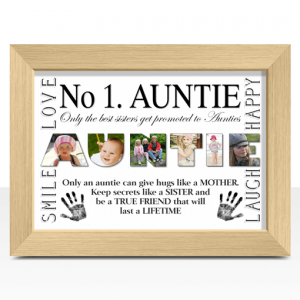 Auntie No 1 AUNTIE Photo Print
