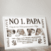 Personalised PAPA Photo Gift