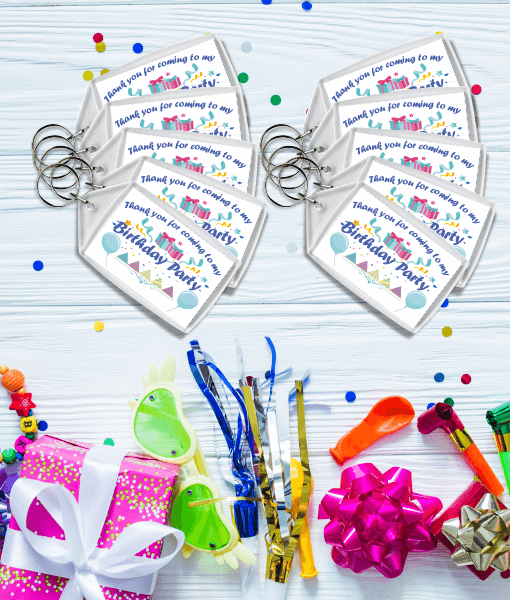 Birthday Gifts Boys Birthday Party Keyrings