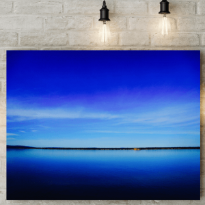 Blue Sky Picture Canvas
