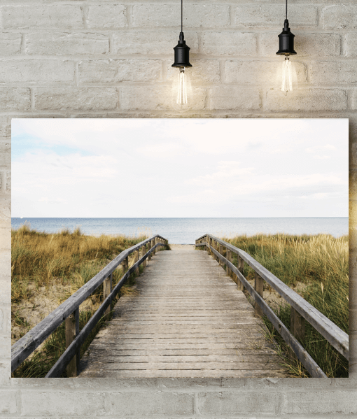 [tag] Beach Walkway Canvas Picture