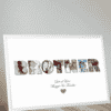 Personalised BROTHER Photo Gift