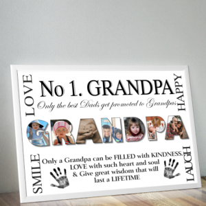 Personalised GRANDPA Photo Gift