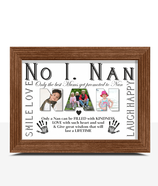 Personalised NAN Photo Gift