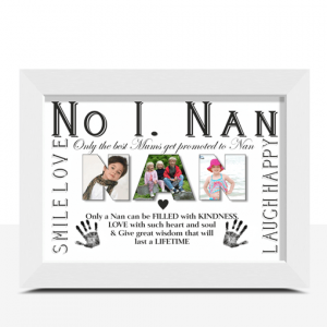 Gifts For Grandparents No 1 NAN Personalised Photo Gift