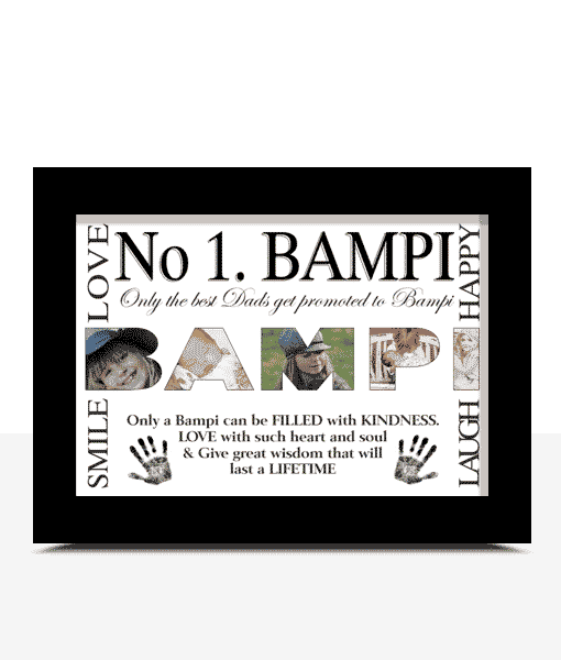 Personalised BAMPI Photo Gift