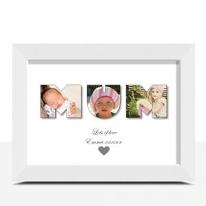 MUM Photo Word Art Gift