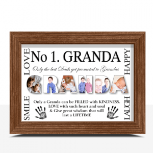Fathers Day Gifts No 1 GRANDA Personalised Photo Gift