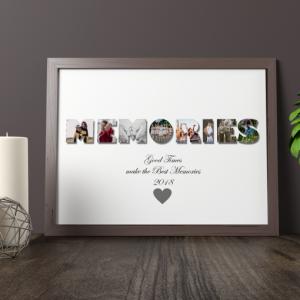 Family MEMORIES Photo Print