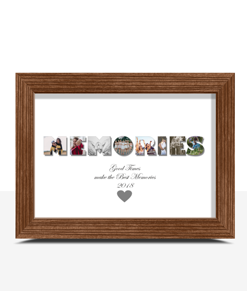 Family MEMORIES Photo Print
