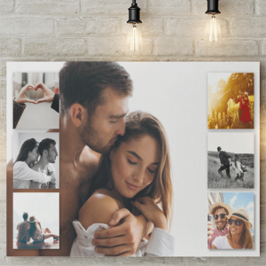 7 Photo Collage Canvas Print