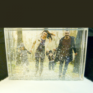 Photo Glitter Blocks