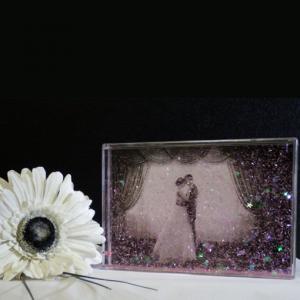 Engagement Gifts Wedding Confetti Photo Blocks