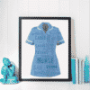 Nurse Uniform Word Art Print