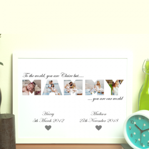 MAMMY Photo Word Art Gift