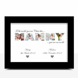Gifts For Her MAMMY Photo Word Art Gift