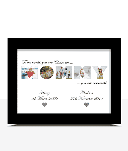 Gifts For Her MOMMY Photo Word Art Gift