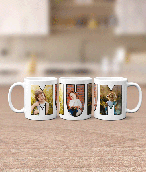 Gifts For Her MUM Photo Mug