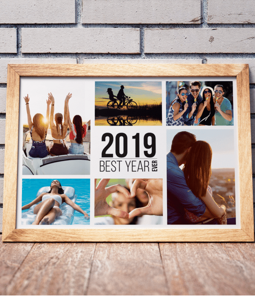 Family Best Year Ever Photo Print