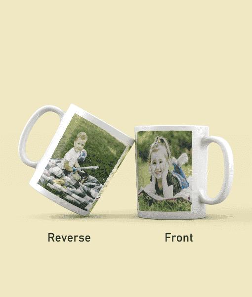 Twin Photo Mug