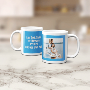 Photo Mug With Personalised Message