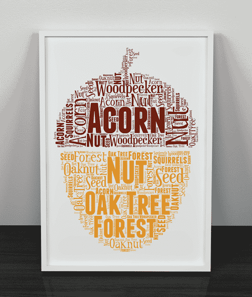 [tag] Acorn Word Art