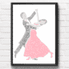 Ballroom Dancers – Dancing Couple Word Art Gifts For Couples