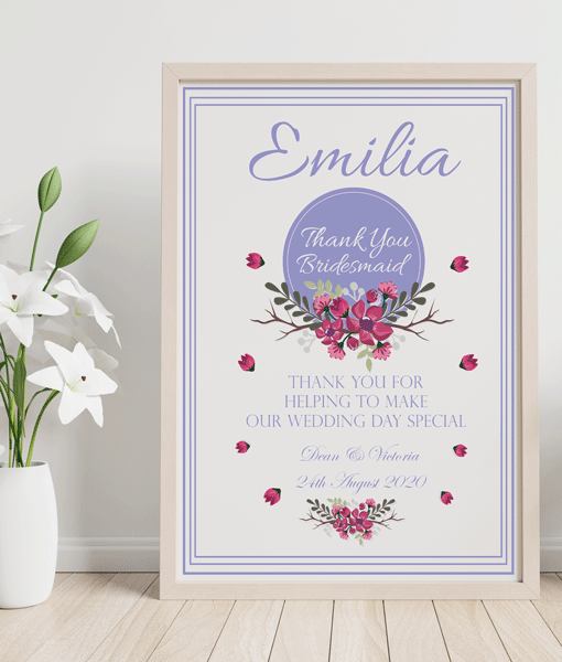 Gifts For Her Bridesmaid Thank You Wedding Gift