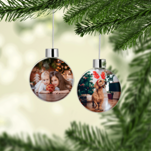 Personalised Christmas Photo Baubles