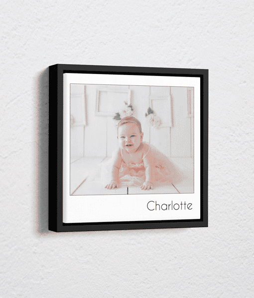 Gifts For Her Single Retro Style Photo Canvas