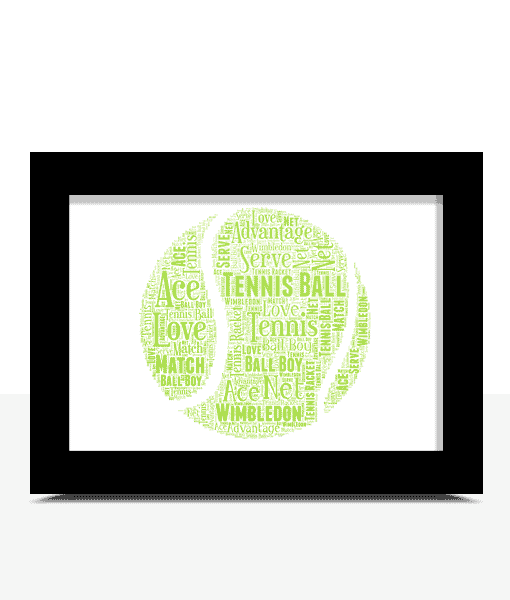 Sport Tennis Word Art