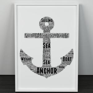 Sport Anchor Word Art