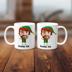 Christmas Elf Face Mug