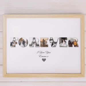 Personalised FOREVER Photo Gift Anniversary Gifts