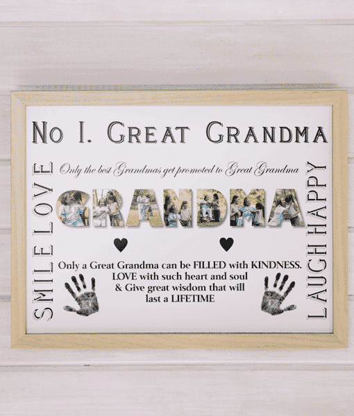 Personalised Great GRANDMA Photo Gift